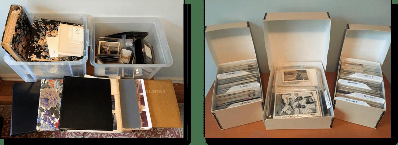 Print Photo Organizing Service Page Past Present Pix