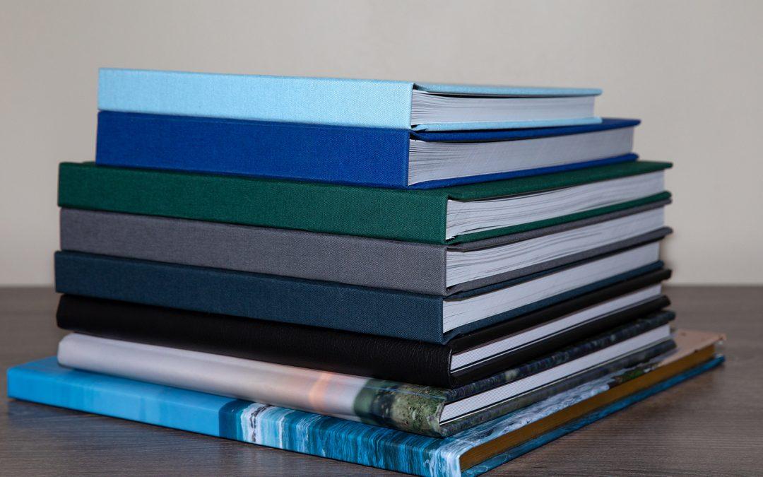 Pile of Photo Books